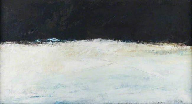 'Cumbrian Snowscape' © Estate of Lorna Graves