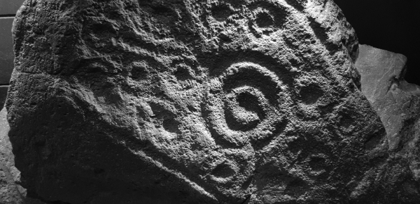 Rock Carvings at Little Meg now in Tullie House Museum, Carlisle    Photo © Dave Brooks