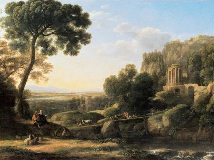 'Pastoral Landscape' by Claude Lorrain | 1644 Oil on Canvas © Musée de Grenoble