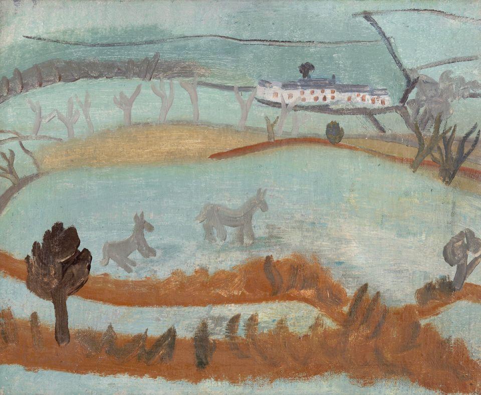 Banks Head – Cumbrian Landscape (1928) by Ben Nicholson © Angela Verren Taunt